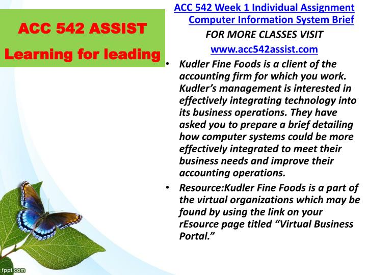 Acc 542 assist learning for leading1