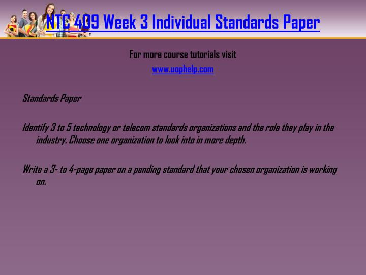 using roles paper week 3 individual Hcs 325 week 3 dq 1 join login the week 1 individual assignment roles and functions paper get tutorial by clicking on the link below or copy paste link in your browser / for more.