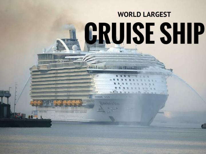 world s largest cruise ship n.