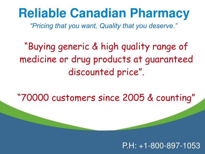 is canadian online pharmacy legitimate online data