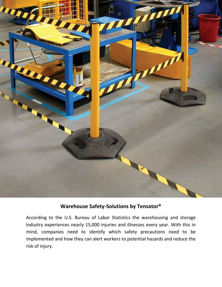 Warehouse Safety-Solutions by Tensator®