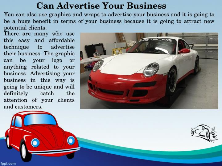 Can Advertise Your Business
