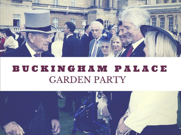 buckingham palace garden party n.