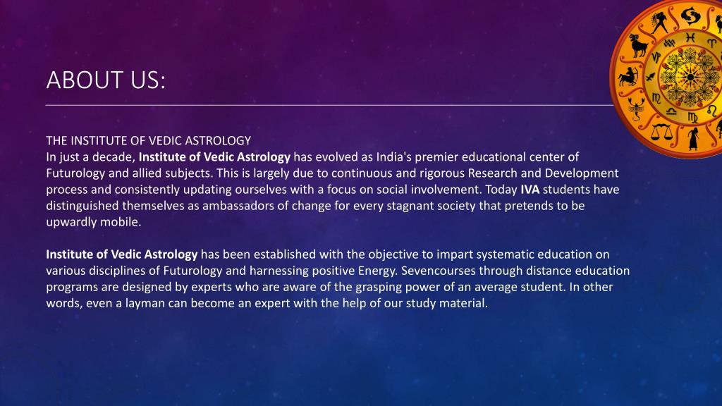 Free astrology study