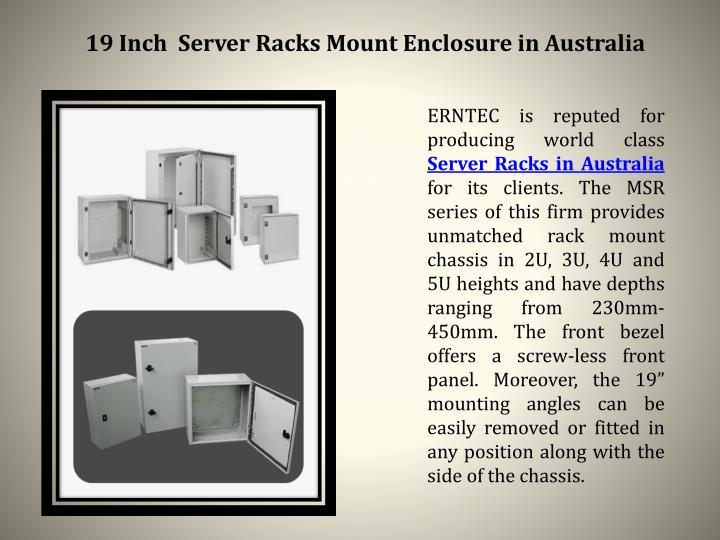 19 Inch  Server Racks Mount Enclosure in Australia