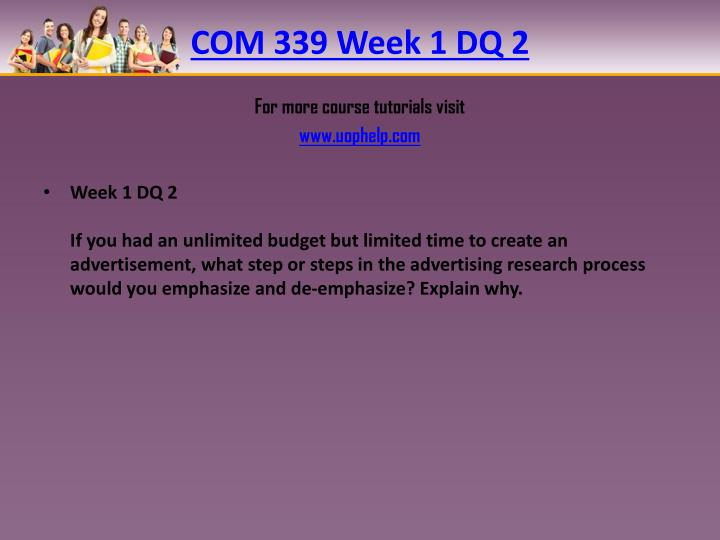 com 156 week 3 For more course tutorials visit wwwuophelpcom week 3 dq 3: imagine the impact of sending a business letter or memo that is improperly formatted in particular, think about rules or standards that must be followed at your place of business.