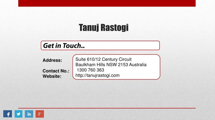 Get in Touch..