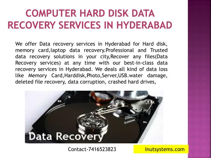 computer hard disk data recovery services in hyderabad n.