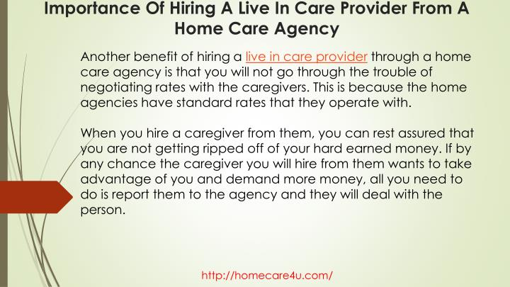 Another benefit of hiring a