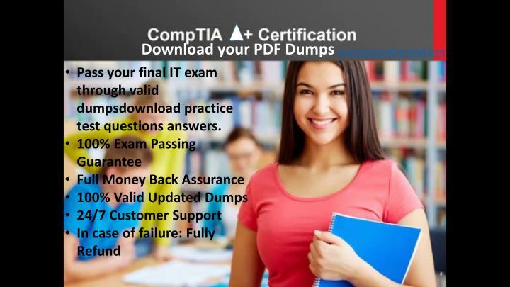 Download your PDF Dumps