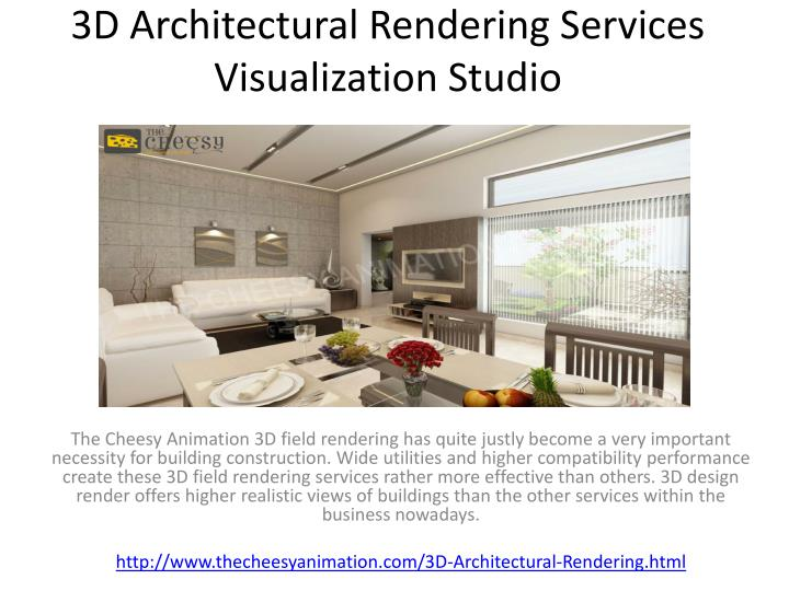 3d architectural rendering services visualization studio n.
