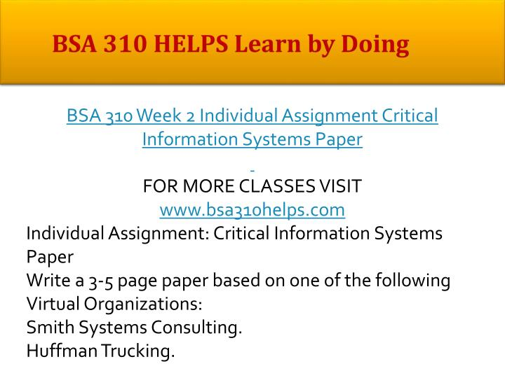 bsa 310 week 2 individual assignment  cost benefit analysis adam j cain bsa-310 10/06/2014 david sciuto when operating a business or managing a project bsa 310 week 2 individual assignment essay.
