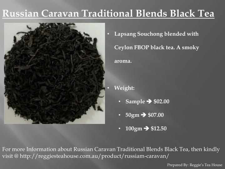Russian Caravan Traditional Blends Black Tea