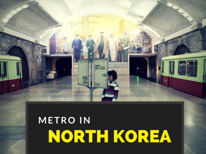 riding the metro in north korea n.