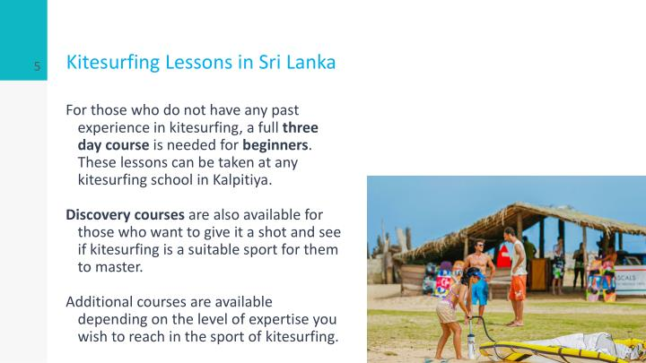 Kitesurfing Lessons in Sri Lanka