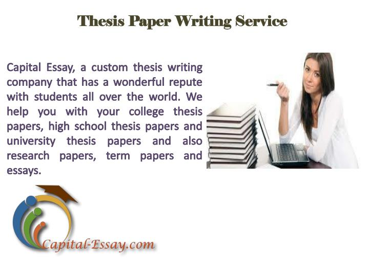 thesis paper writing