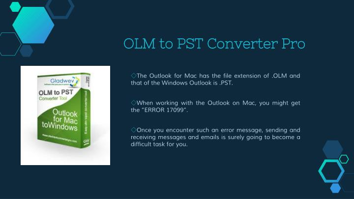 Olm to pst converter pro