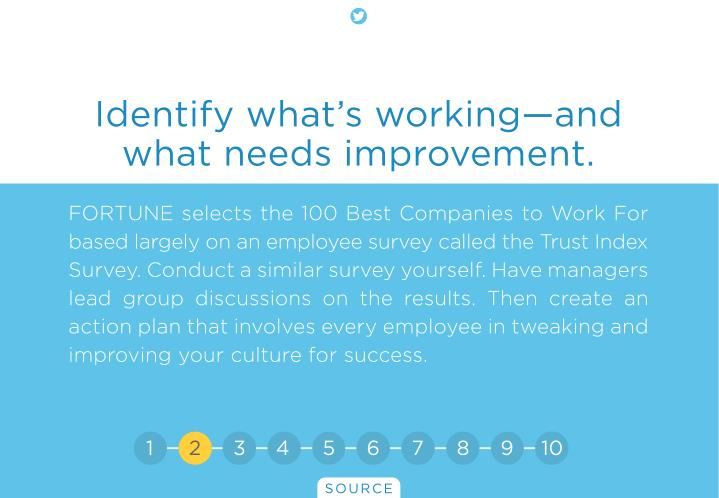 Identify what's working—and
