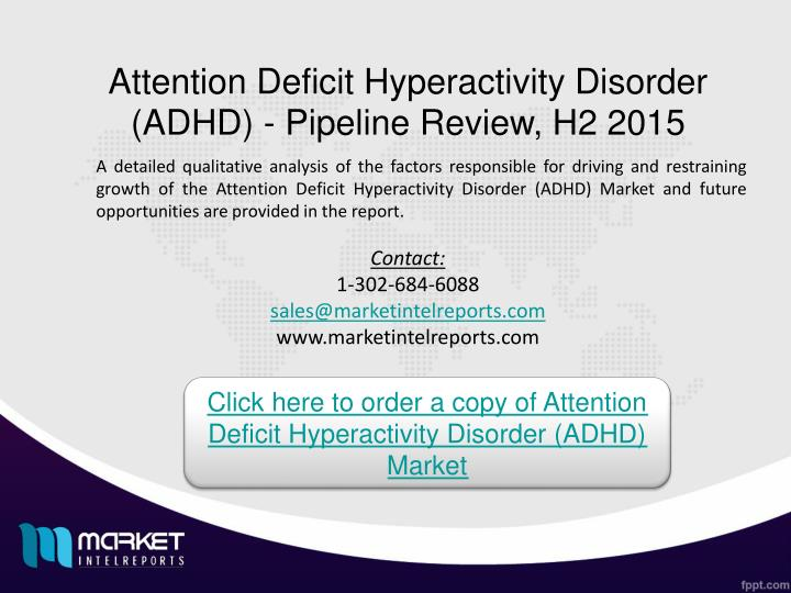 a report on attention deficit disorder add