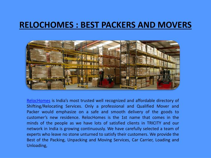 relochomes best packers and movers n.