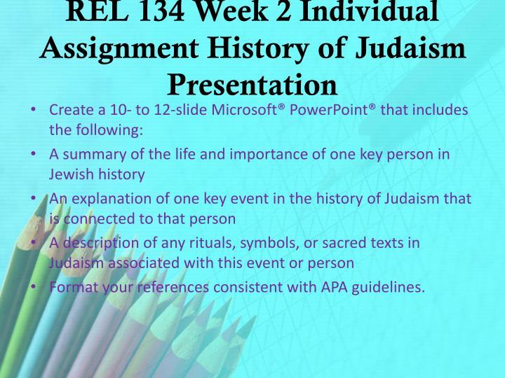 week 2 week two individual