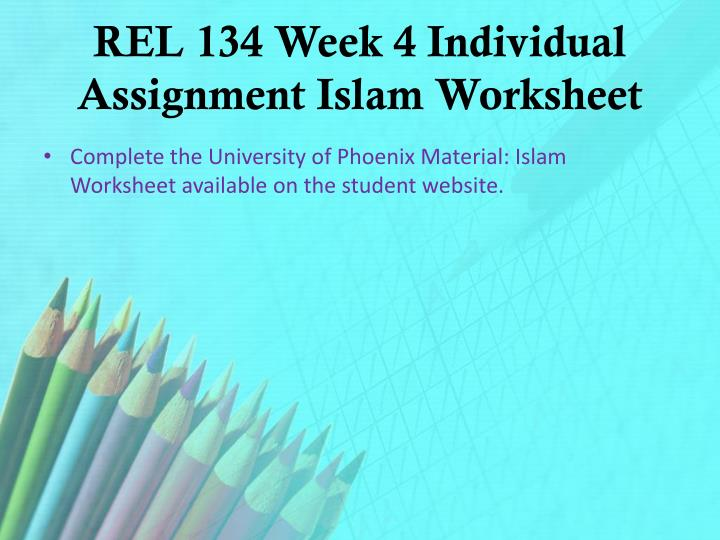 islam worksheet