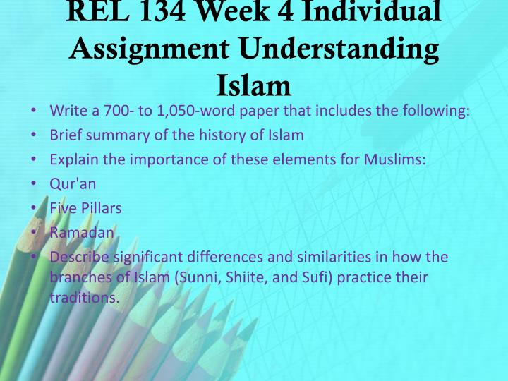 understanding islam paper