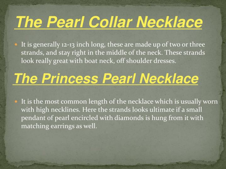 The Pearl Collar Necklace