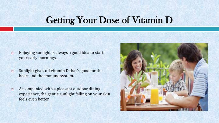 Getting Your Dose of Vitamin D