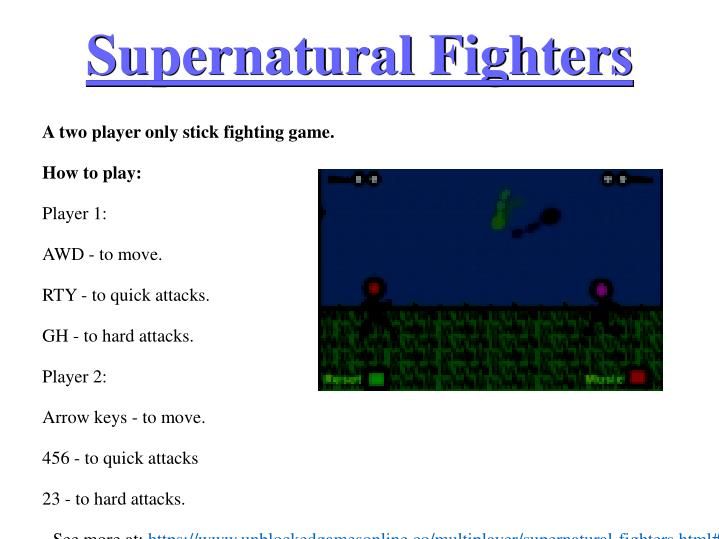 Supernatural fighters