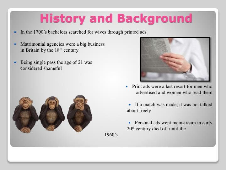 History and background
