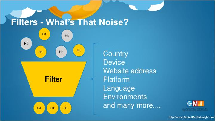 Filters - What's That Noise?