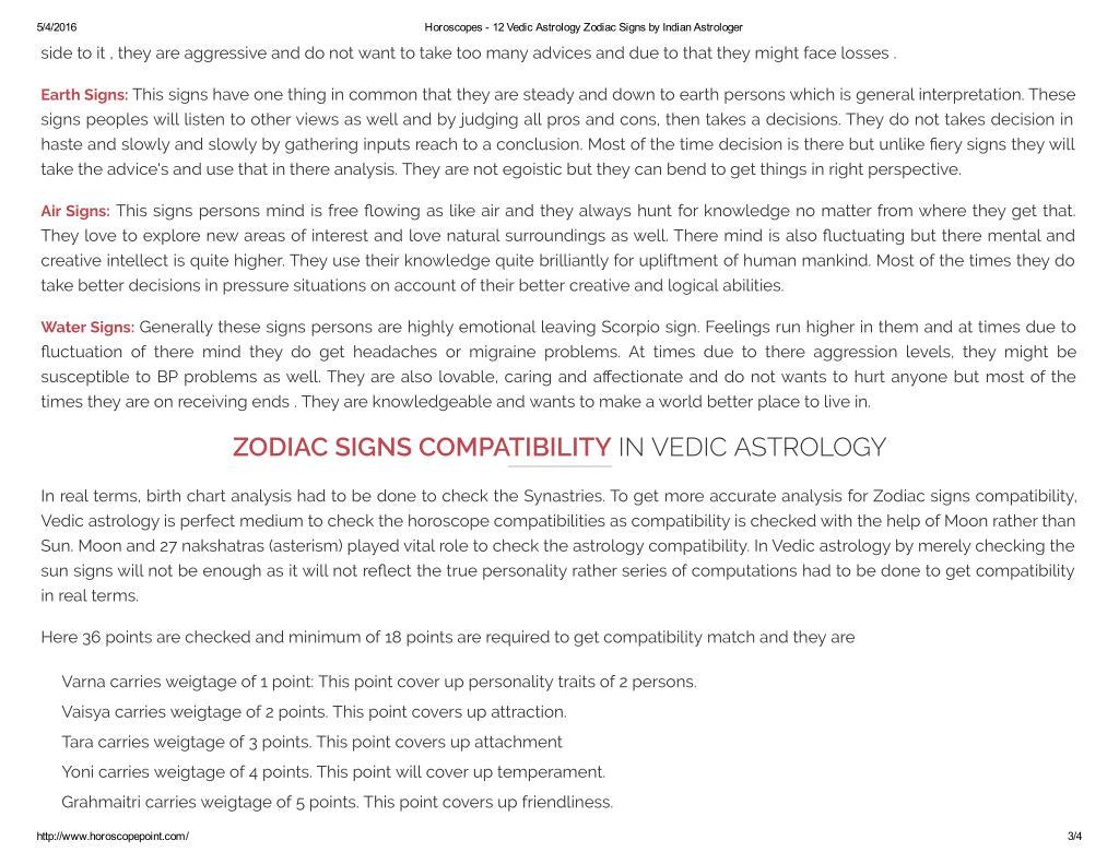 PPT - www horoscopepoint com 12 Astrology Zodiac Signs Information