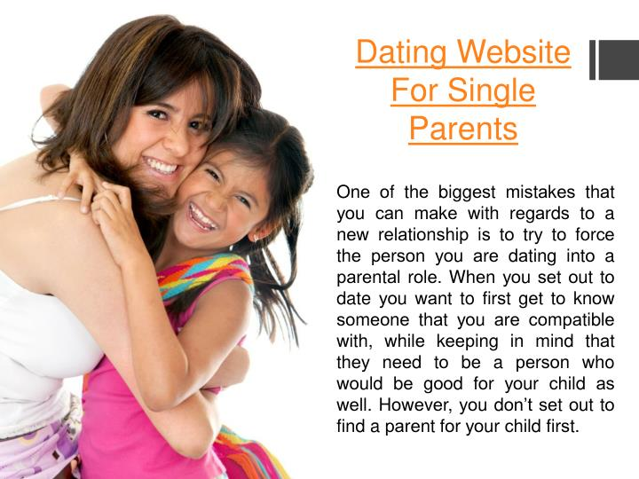 single parent dating website