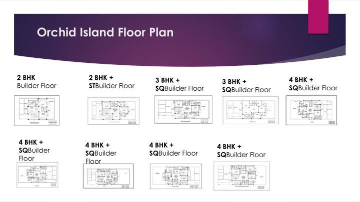 Orchid island floor plan