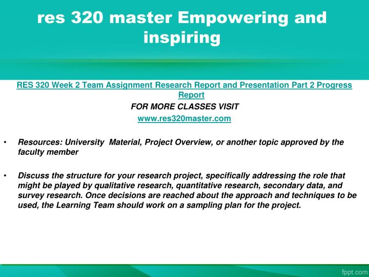 discussion questions res 320 Res 320 complete class (all dqs and assignment) res 320 week 1 individual business research application paper resource.