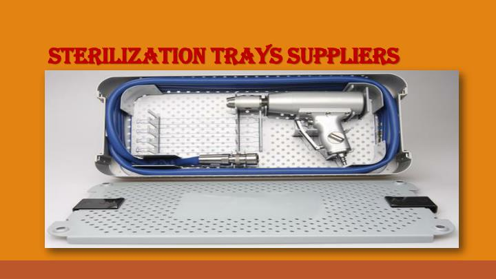 Sterilization Trays Suppliers