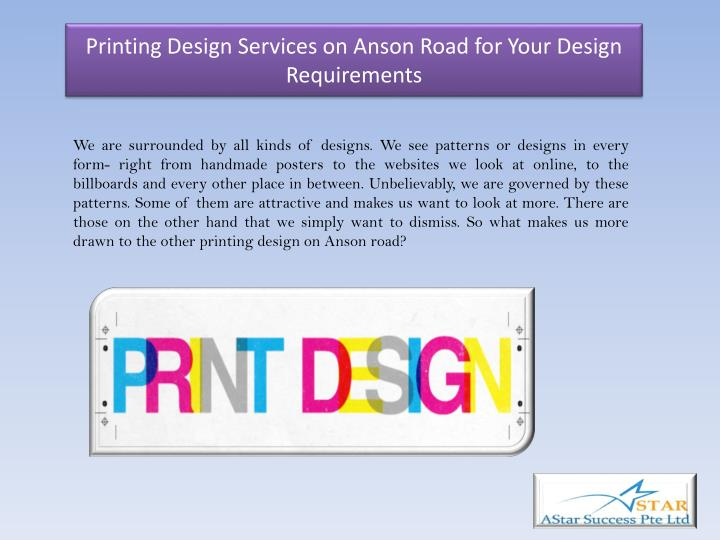 printing design services on anson road for your design requirements n.