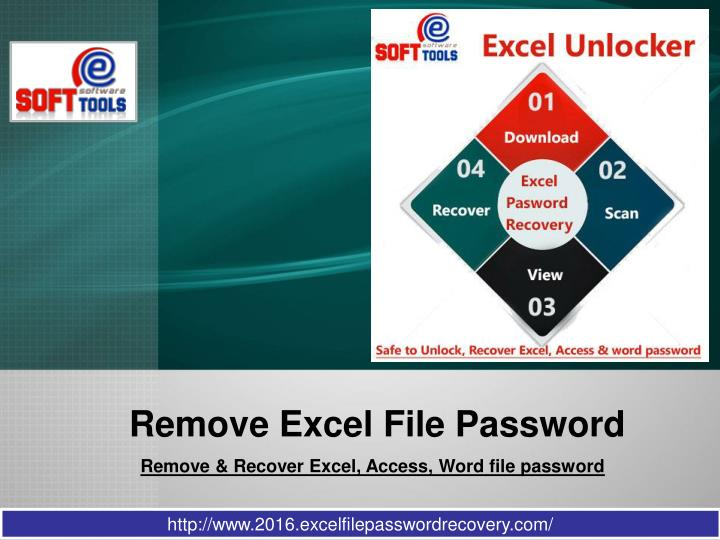 remove password from ppt