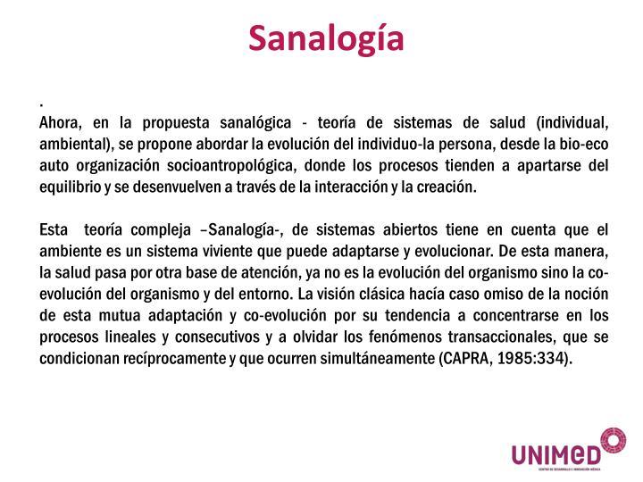 Sanalogía
