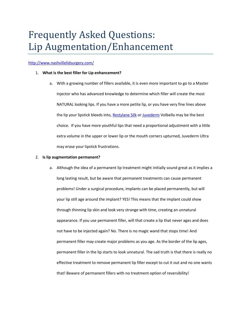 PPT - Lip Augmentation 101 PowerPoint Presentation - ID:7353462