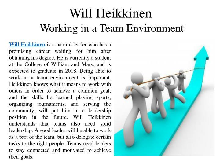Will Heikkinen