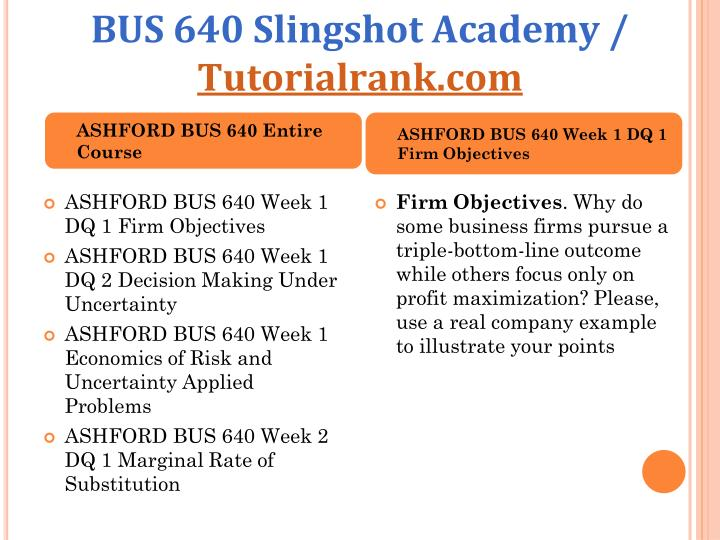 market structures and pricing decisions applied problems bus 640 ashford university Ashford bus 640 managerial bus 640 week 4 market structures and pricing decisions problems: bus 640 week 5 price quotes and pricing decision applied problem: bus.