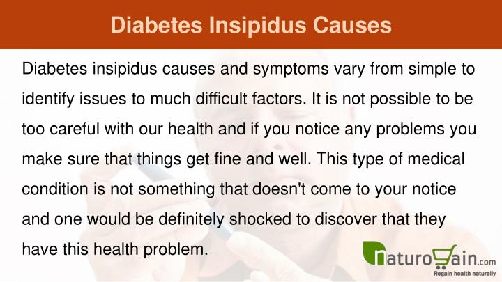 Natural Treatment for Diabetes Insipidus | Anti-diabetes effects Top  quality Pure Natural herbal extract