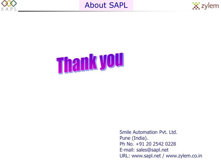 About SAPL