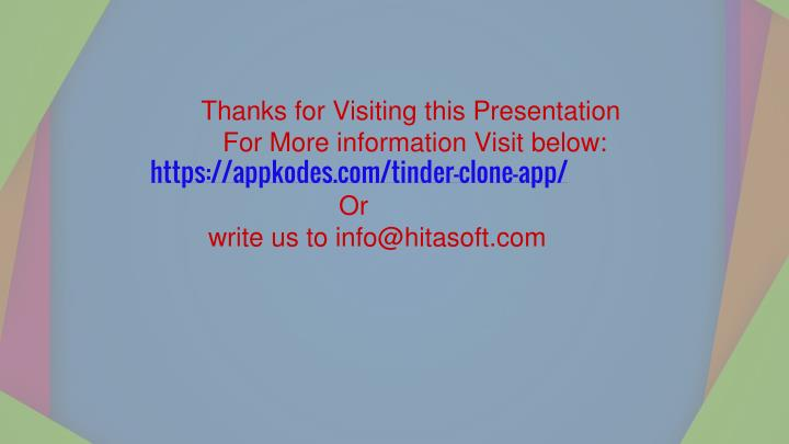 Thanks for Visiting this Presentation