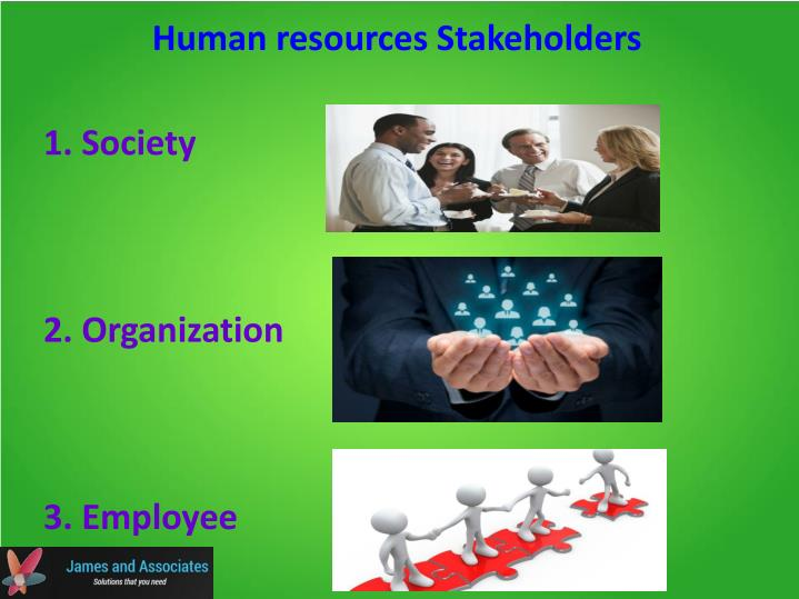 Human resources Stakeholders