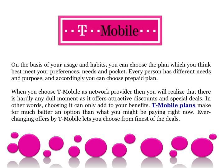 And unlike T-Mobile's new postpaid plans that allow customer to amortize the cost of a phone over the course of several months, the company's prepaid plans do not allow for that option.