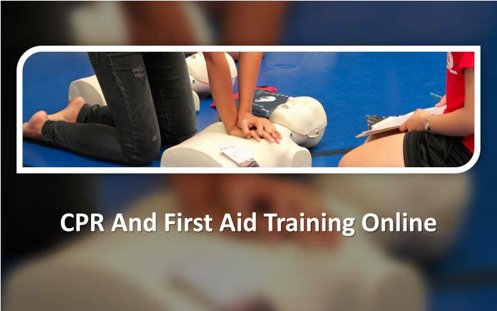 cpr and first aid persuasive speech