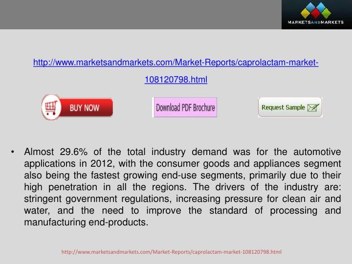 Http://www.marketsandmarkets.com/Market-Reports/caprolactam-market-108120798.html